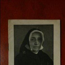 Postales: LIBRETO / LIBRILLO RELIGIOSO ANTIGUO: VIDAS EJEMPLARES 7- LA MADRE MARÍA DE LOYOLA / BARCELONA 1946. Lote 83461299