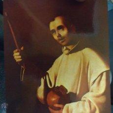 Postales: POSTAL RELIGIOSA CADIZ , SAN BRUNO ZURBARAN . Lote 49321785