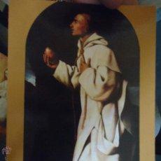 Postales: POSTAL RELIGIOSA CADIZ , BEATO JUAN HOUGHTON , ZURBARAN. Lote 49321803