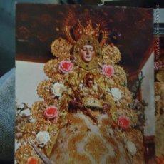 Postales: POSTAL RELIGIOSA SEMANA - HUELVA VIRGEN DEL ROCIO ALMONTE. Lote 49327287