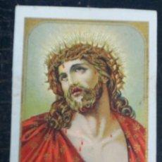 Postales: ESTAMPA RELIGIOSA ECCE HOMO. Lote 49339630