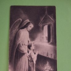 Postales: ESTAMPA RECORDATORIO COMUNION - 1936 - MALAGA. Lote 49397574