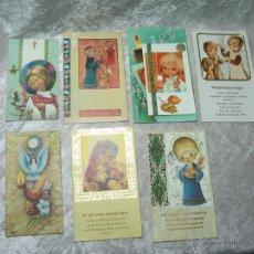 Postcards - LOTE 7 RECORDATORIOS PRIMERA COMUNION AÑOS 70 - 49413733