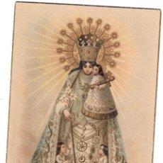 Postales: POSTAL DE LA VIRGEN DE LOS DESAMPARADOS, VALENCIA, ESCRITA EN 1950. Lote 49655440