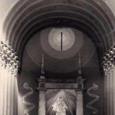 Postales: OLIETE Nº 8 ALTAR MAYOR DE LA IGLESIA PARROQUIAL EDICIONES MONTAÑES ESCRITA SIN CIRCULAR FOTOGRÁFICA. Lote 49729084