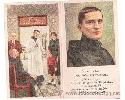 Estampa Reliquia Ex Indumentis De Fr Ricardo P Sold Through Direct Sale 49871316