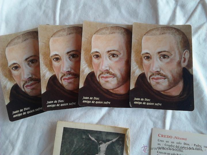 Postales: PADRE PIO CALENDARIOS JUAN DE DIOS AMIGO DE QUIEN SUFRE ORACION PADRE NUESTRO CREDO NICENO - Foto 8 - 49876648