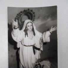 Postales: POSTAL FOTO VIRGEN MARIA. TDKP3. Lote 49880117