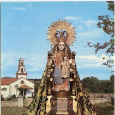 Postales - Ntra Sra de Valparaiso, Patrona de Santibáñez de Béjar (Salamanca) Tarjetón 15x10,5 cm. - 49893946