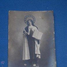 Postales: POSTAL FOTOGRAFICA FECHADA EN 1913 - SANTA TERESA DE JESUS ??. Lote 49913075