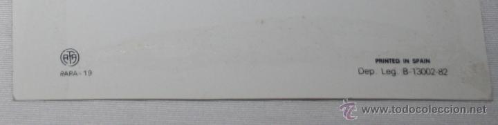 Postales: ESTAMPA TIPO POSTAL DE JUAN PABLO II, AFA PAPA - 19, AÑO 1982, 15 X 10,5 CM - Foto 3 - 49934956