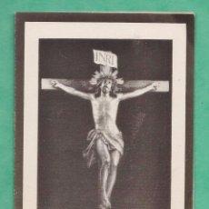 Postales: ESQUELA MORTUORIA / DEFUNCION - FRANCISCO JIMENEZ BALDO (?) - AÑO 1952. Lote 49959150