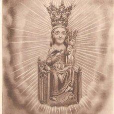 Postales: QUERALT, VERGE DE SANTA MARIA DE QUERALT, SIN CIRCULAR, POSTAL ANTIGUA . Lote 49961114