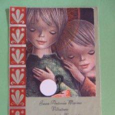 Postales: ESTAMPA RECORDATORIO COMUNION - 1970 MALAGA. Lote 50035177