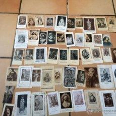 Postales: LOTE DE 50 ESTAMPAS RELIGIOSAS ANTIGUAS DE LA SANTA VIRGEN MARIA MADRE DE DIOS (Nº3). Lote 50070401