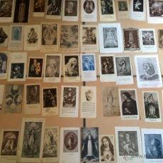 Postales: LOTE DE 50 ESTAMPAS RELIGIOSAS ANTIGUAS DE LA SANTA VIRGEN MARIA MADRE DE DIOS (Nº4). Lote 50070409