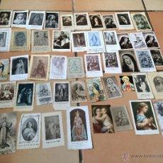 Postales: LOTE DE 50 ESTAMPAS RELIGIOSAS ANTIGUAS DE LA SANTA VIRGEN MARIA MADRE DE DIOS (Nº5). Lote 50070422