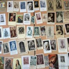 Postales: LOTE DE 50 ESTAMPAS RELIGIOSAS ANTIGUAS DE LA SANTA VIRGEN MARIA MADRE DE DIOS (Nº7). Lote 50070449