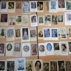 Postales: LOTE DE 50 ESTAMPAS RELIGIOSAS ANTIGUAS DE LA SANTA VIRGEN MARIA MADRE DE DIOS (Nº8). Lote 50070459