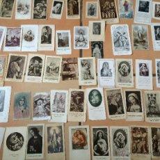 Postales: LOTE DE 50 ESTAMPAS RELIGIOSAS ANTIGUAS DE LA SANTA VIRGEN MARIA MADRE DE DIOS (Nº10). Lote 50070471