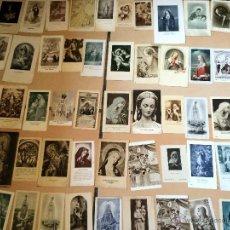 Postales: LOTE DE 50 ESTAMPAS RELIGIOSAS ANTIGUAS DE LA SANTA VIRGEN MARIA MADRE DE DIOS (Nº11). Lote 50070483
