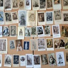 Postales: LOTE DE 50 ESTAMPAS RELIGIOSAS ANTIGUAS DE LA SANTA VIRGEN MARIA MADRE DE DIOS (Nº12). Lote 50070491