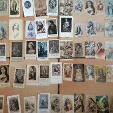 Postales: LOTE DE 50 ESTAMPAS RELIGIOSAS ANTIGUAS DE LA SANTA VIRGEN MARIA MADRE DE DIOS (Nº16). Lote 50070535