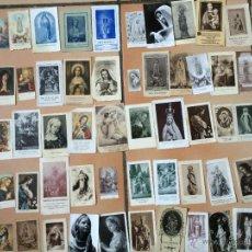 Postales: LOTE DE 50 ESTAMPAS RELIGIOSAS ANTIGUAS DE LA SANTA VIRGEN MARIA MADRE DE DIOS (Nº18). Lote 50070556
