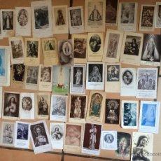 Postales: LOTE DE 50 ESTAMPAS RELIGIOSAS ANTIGUAS DE LA SANTA VIRGEN MARIA MADRE DE DIOS (Nº19). Lote 50070567
