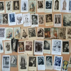 Postales: LOTE DE 50 ESTAMPAS RELIGIOSAS ANTIGUAS DE LA SANTA VIRGEN MARIA MADRE DE DIOS (Nº21). Lote 50091286