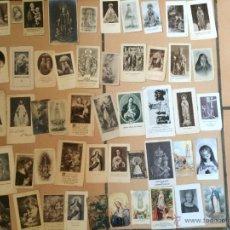 Postales: LOTE DE 50 ESTAMPAS RELIGIOSAS ANTIGUAS DE LA SANTA VIRGEN MARIA MADRE DE DIOS (Nº22). Lote 50091299