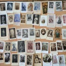 Postales: LOTE DE 50 ESTAMPAS RELIGIOSAS ANTIGUAS DE LA SANTA VIRGEN MARIA MADRE DE DIOS (Nº23). Lote 50091311