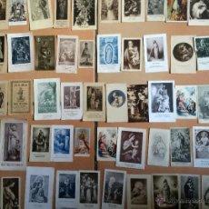 Postales: LOTE DE 50 ESTAMPAS RELIGIOSAS ANTIGUAS DE LA SANTA VIRGEN MARIA MADRE DE DIOS. Lote 50194519