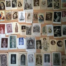Postales: LOTE DE 50 ESTAMPAS RELIGIOSAS ANTIGUAS DE LA SANTA VIRGEN MARIA MADRE DE DIOS. Lote 50194520