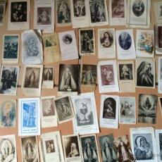 Postales: LOTE DE 50 ESTAMPAS RELIGIOSAS ANTIGUAS DE LA SANTA VIRGEN MARIA MADRE DE DIOS. Lote 50204706