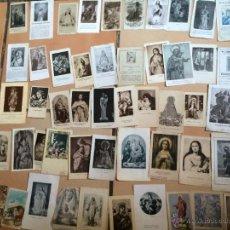 Postales: LOTE DE 50 ESTAMPAS RELIGIOSAS ANTIGUAS DE LA SANTA VIRGEN MARIA MADRE DE DIOS. Lote 50204783