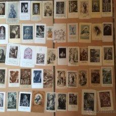 Postales: LOTE DE 50 ESTAMPAS RELIGIOSAS ANTIGUAS DE LA SANTA VIRGEN MARIA MADRE DE DIOS. Lote 50204818
