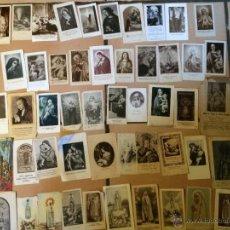 Postales: LOTE DE 50 ESTAMPAS RELIGIOSAS ANTIGUAS DE LA SANTA VIRGEN MARIA MADRE DE DIOS . ESTAMPA AÑOS 30-70. Lote 50209596