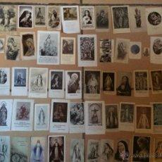 Postales: LOTE DE 50 ESTAMPAS RELIGIOSAS ANTIGUAS DE LA SANTA VIRGEN MARIA MADRE DE DIOS . ESTAMPA AÑOS 30-70. Lote 50209603
