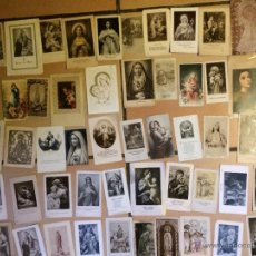 Postales: LOTE DE 50 ESTAMPAS RELIGIOSAS ANTIGUAS DE LA SANTA VIRGEN MARIA MADRE DE DIOS . ESTAMPA AÑOS 30-70. Lote 50209626