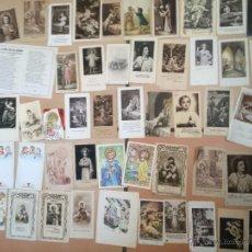 Postales: LOTE DE 50 ESTAMPAS RELIGIOSAS ANTIGUAS DEL NIÑO JESÚS . SANTO CRISTO . ESTAMPA AÑOS 30-70. Lote 50223412