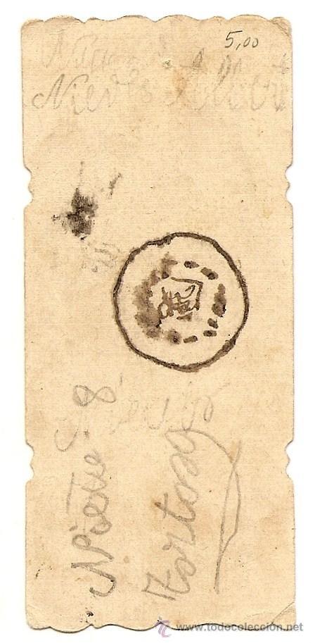 Postales: BONITO RECORDATORIO TROQUELADO DE COMUNIÓN PRINCIPIOS SIGLO XX - SIN IMPRIMIR - Foto 2 - 50351964