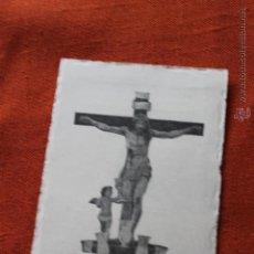 Postales: SANTISIMO CRISTO DE LA PRECIOSISIMA SANGRE, DE BUSSI, MURCIA 1956. Lote 50448435