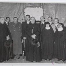 Postales: F-756. FINAL ACTO RELIGIOSO CON PARTICIPACION DE TODAS LAS AUTORIDADES. AÑOS 40. ESPAÑA.. Lote 50544841