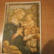 Postales: POSTAL LA VIRGEN EN ADORACION SIN CIRCULAR. Lote 50661421