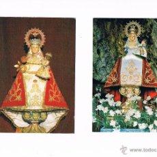 Postales: LOTE 2 POSTALES ANTIGUAS NUESTRA SEÑORA DE COVADONGA ASTURIAS. Lote 50690417