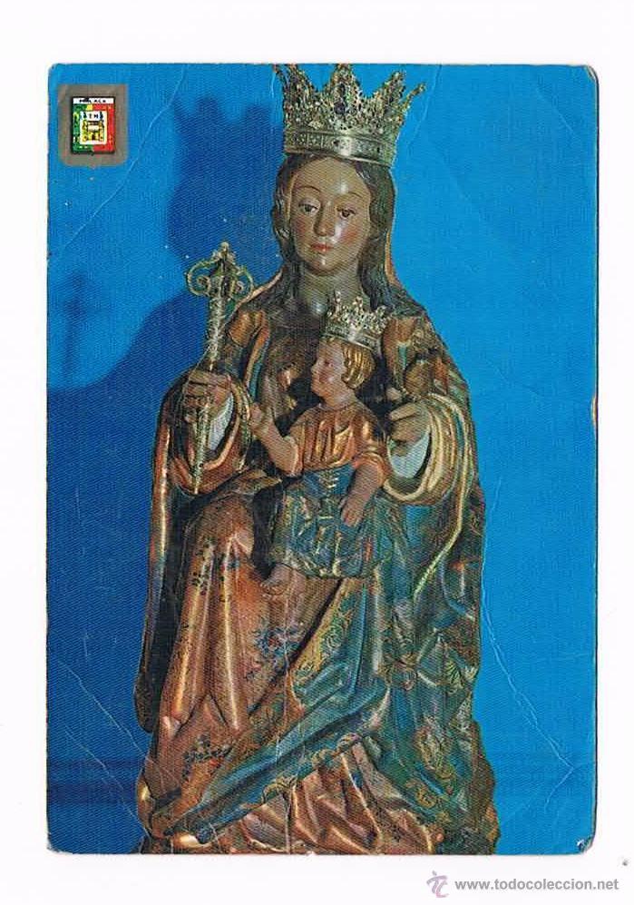 POSTAL ANTIGUA VIRGEN DE LA VICTORIA MÁLAGA (Postales - Religiosas y Recordatorios)