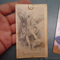 Postales: ESTAMPA RELIGIOSA SAN MIGUEL ARCANGEL. Lote 50701398