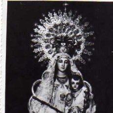 Postales: NUESTRA SEÑORA DE LA MERCED MADRID SIN CIRCULAR REVERSO MANCHADO. Lote 50778526
