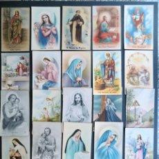 Postales: 25 POSTALES RELIGIOSAS DIFERENTES - AÑOS 50 / SIN USAR /. Lote 50889827